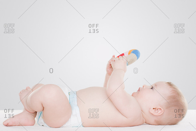 Baby with toy - Offset Collection
