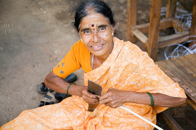 Woman in Mysore India