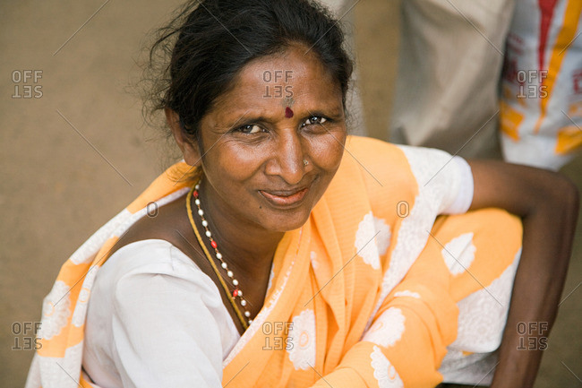 Woman in Mysore India