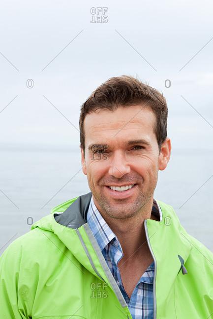 Man at the coast