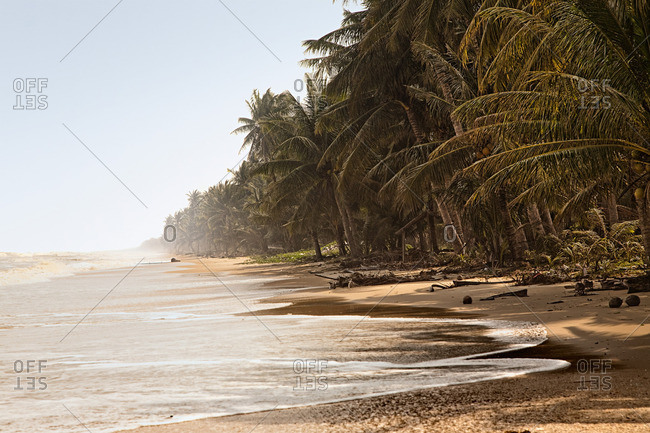 Beach at the gulf of Thailand