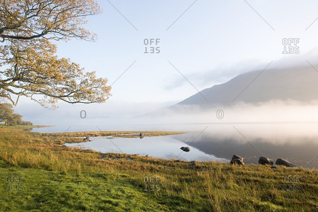 Bassenthwaite Lake, Lake District, Cambria, England