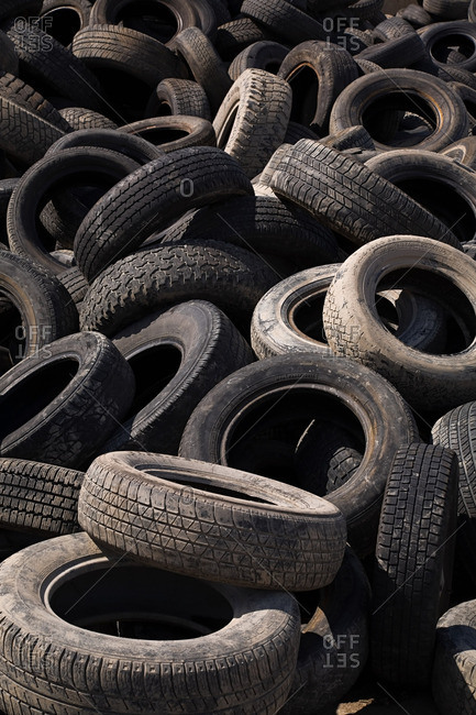 Stack of tires - Offset Collection