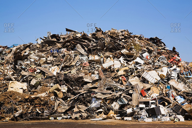 Waste pile from the Offset Collection