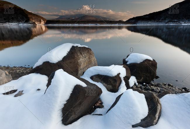 Mt. Fuji and Lake Kawaguchi, Japan