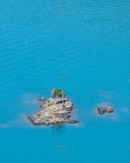An island in North Cascades National Park, Washington
