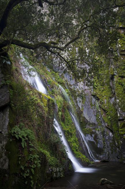 Fraga da Pena waterfall in Portugal