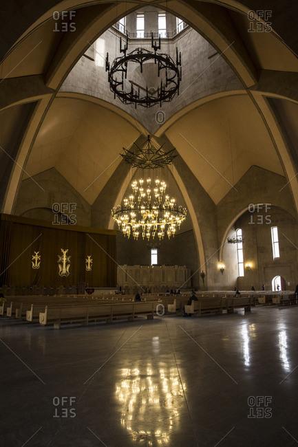 Yerevan, Armenia - March 3, 2016: Saint Gregory the Illuminator Cathedral