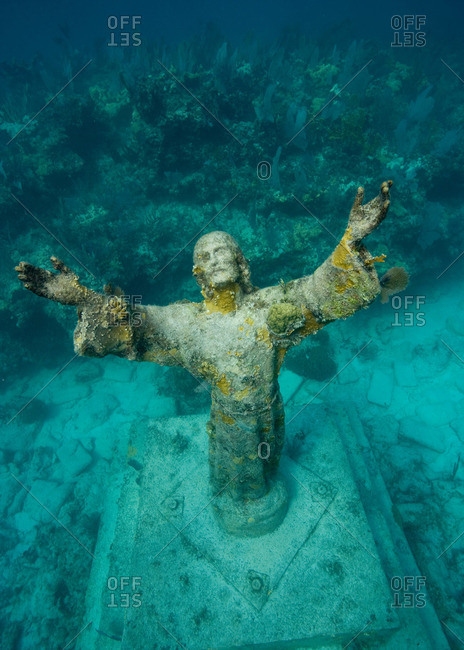 Statue of Christ of the Abyss
