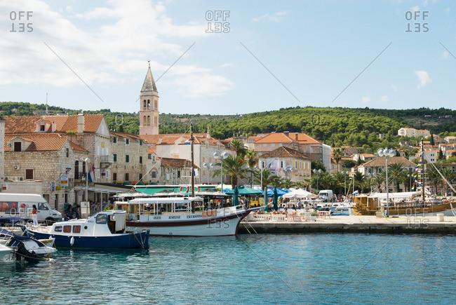 Croatia - Supetar harbor brac Croatia
