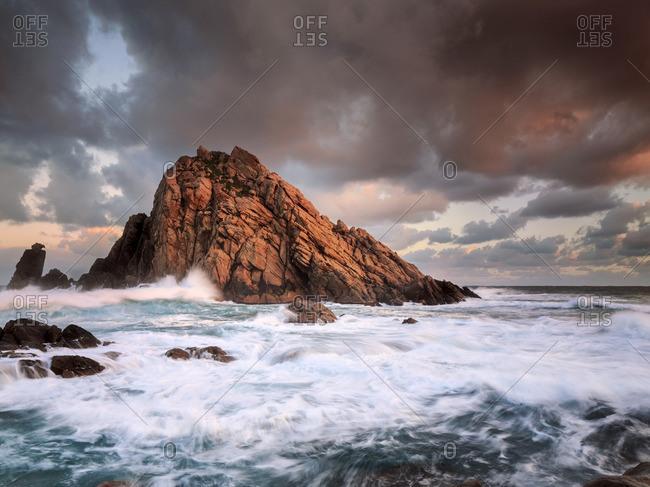 Sunrise at Sugarloaf Rock in Dunsborough, Australia