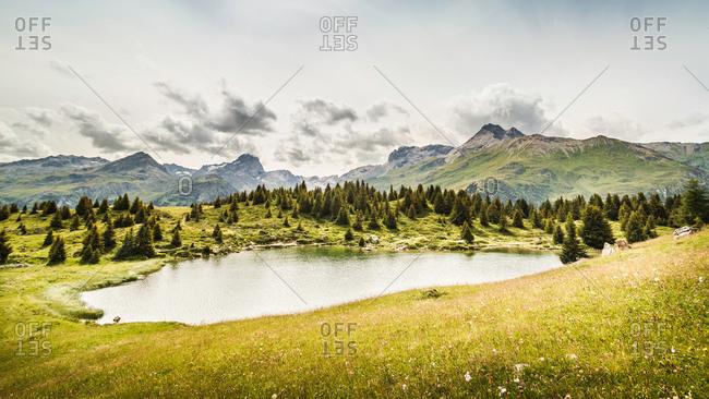 Alp Flix, Lais Blos, Savognin, Graubuenden, Switzerland