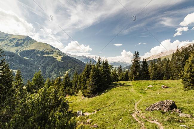 Alp Flix, Savognin, Graubuenden, Switzerland