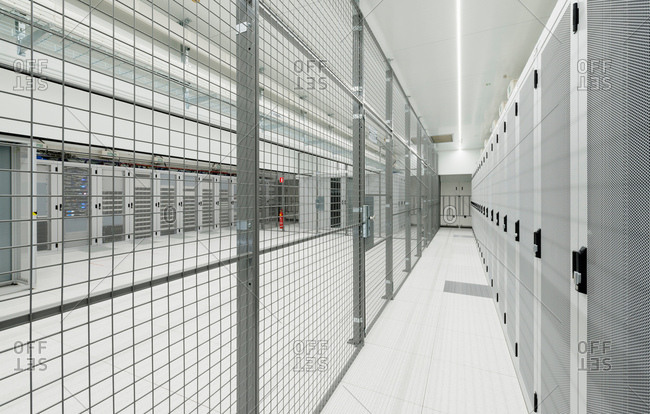 Datacenter for storing large amounts of data, and is an important hub for the internet