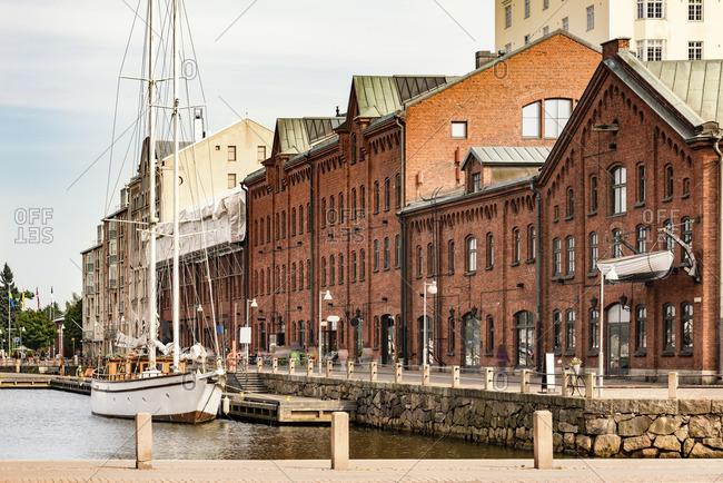 Finland, Helsinki, Harbour of Katajanokka