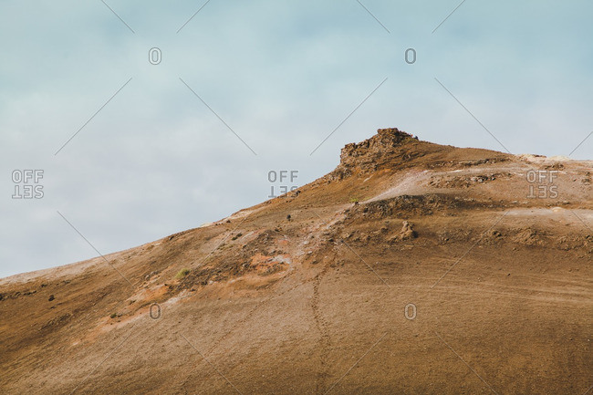 Mountain in Hverir, Iceland