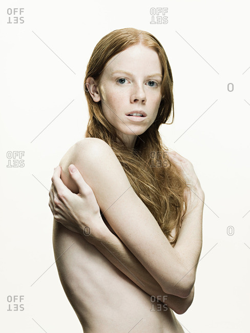 Nude young woman - Offset Collection