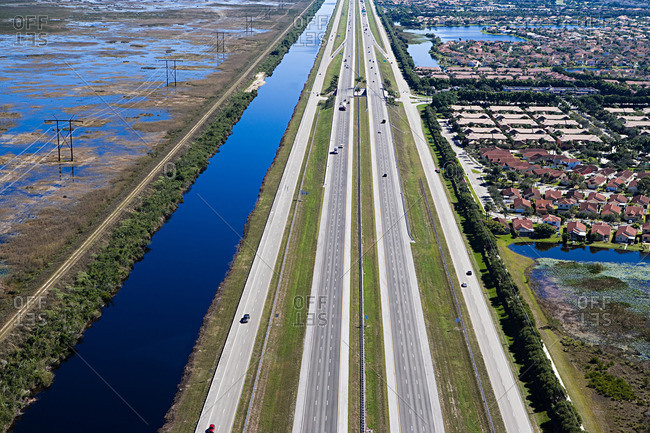 A highway in fort Lauderdale