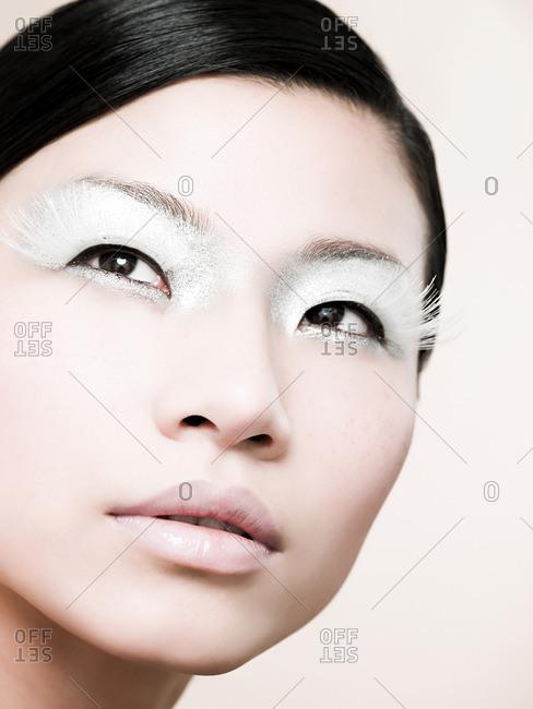 Eyelashes Model Stock Photos Offset