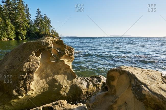 Shoreline in Washington state