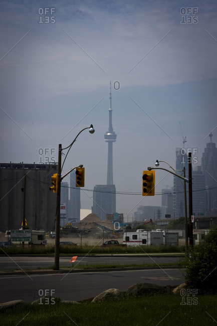 Toronto, Canada - July 4, 2013: A view of the NC Tower in Toronto, Canada