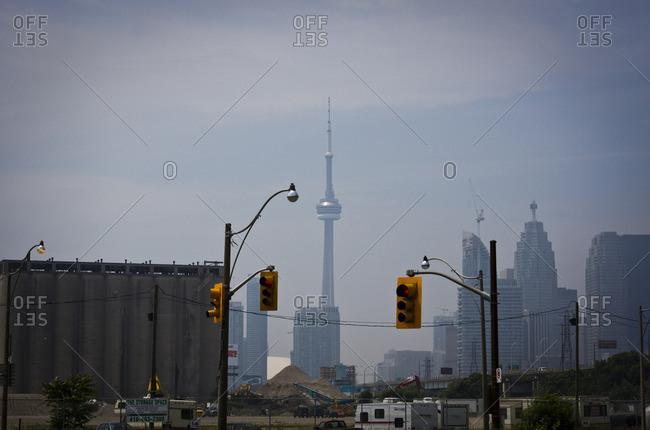 Toronto, Canada - July 4, 2013: Toronto skyline with the NC Tower