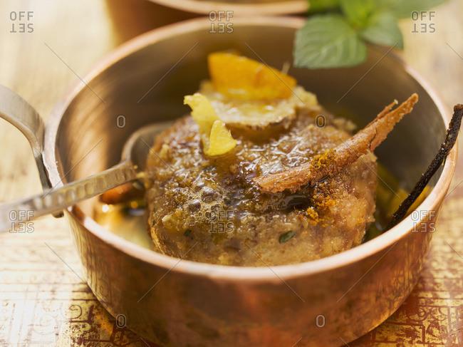 Indian lamb burger - Offset Collection