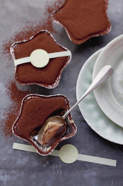 Chocolate toffee stars