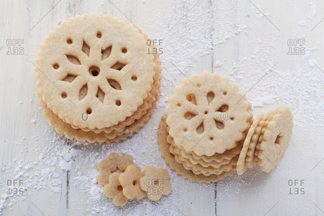Lace biscuits from the Offset Collection
