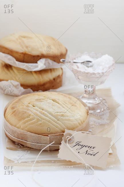 Gateau Breton (butter cake, Brittany, France)