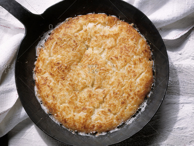 Swiss Style Hash Browns