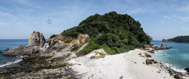 Panoramic view of Kyun Phi Lar Island