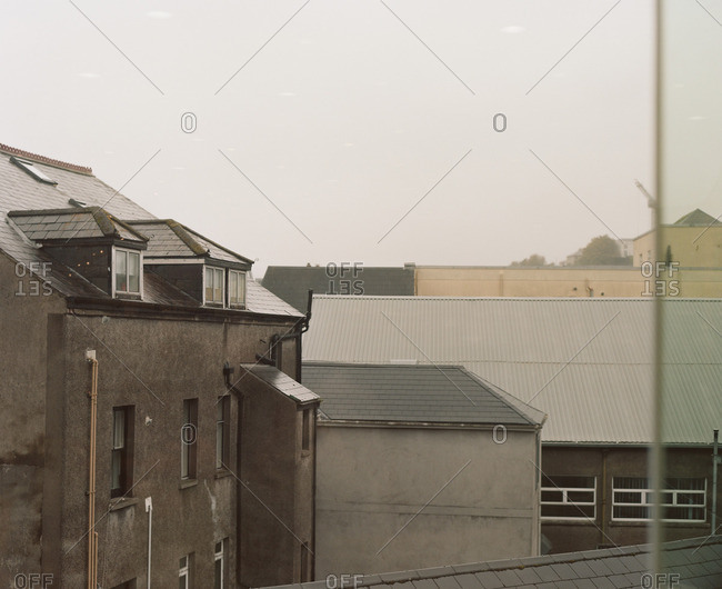 View of rooftops and exterior of buildings