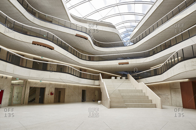 Modern Office Building Stock Photo Offset