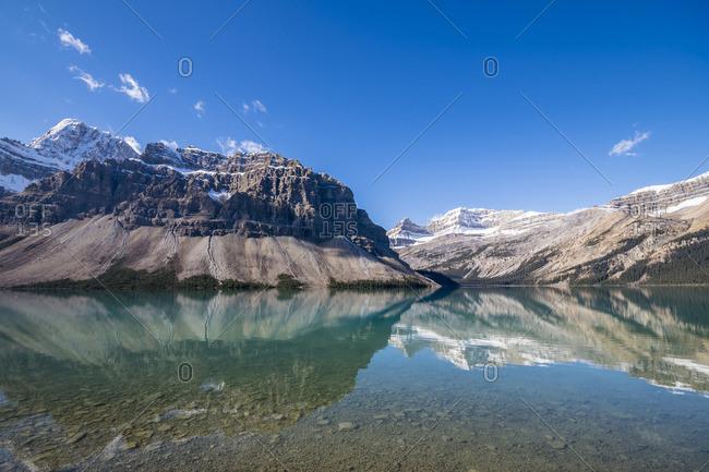 Canada, Alberta, Banff National Park, Bow Lake