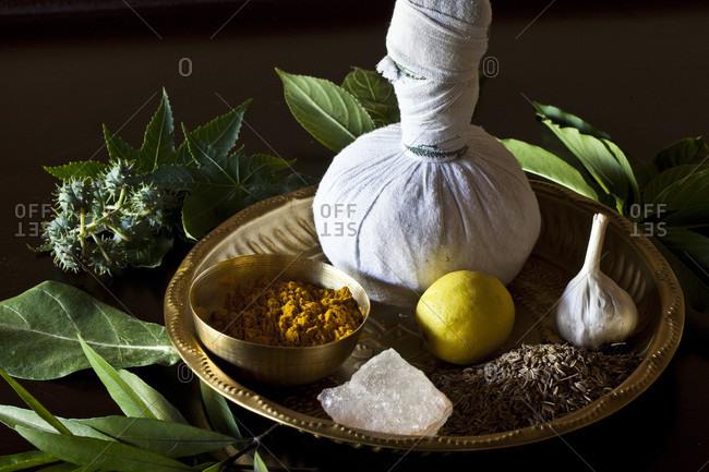 Close-up Of Different Indian Spices At Swaswara, Karnataka, India