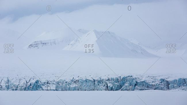 Landscape Of Spitzbergen In Svalbard, Norway