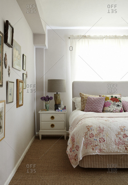 July 19, 2012: One side of a bedroom