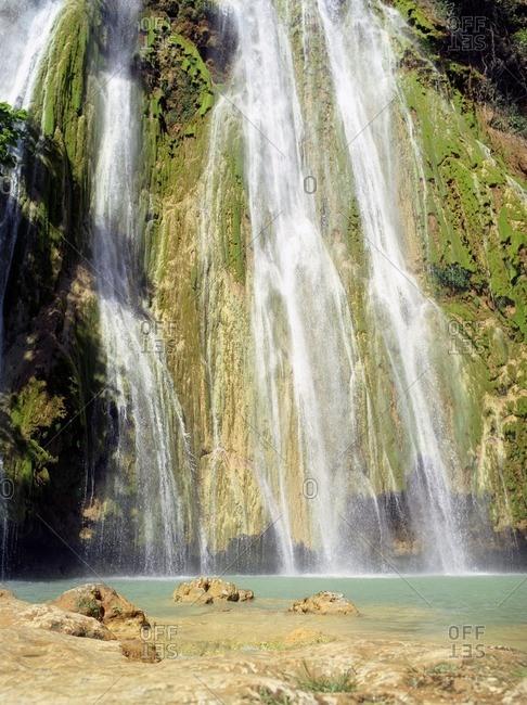 El Limon Waterfall (Salto de Limon), Samana Peninsula, Dominican Republic