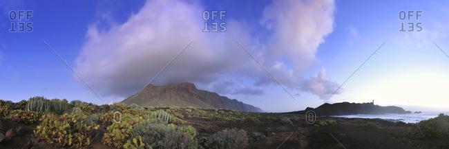 Landscape at Punta de Teno, Canary Islands