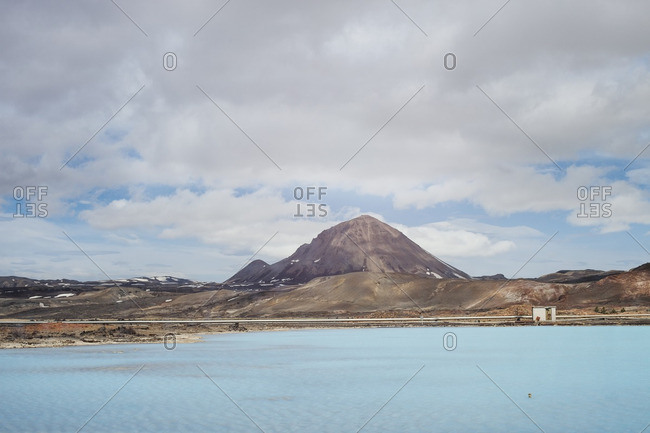 Myvatn in Skutustadir in Iceland