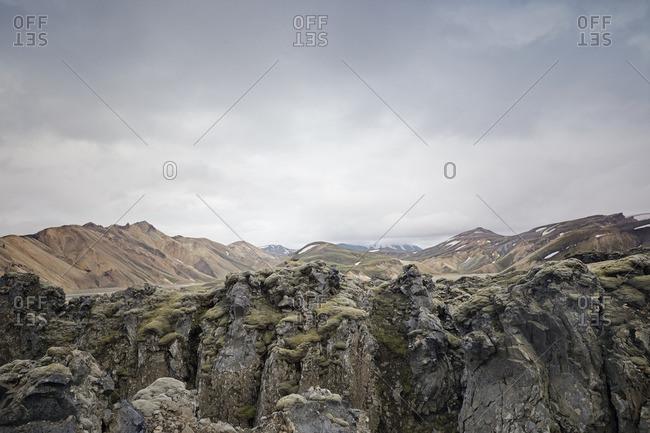 Rocky Icelandic landscape