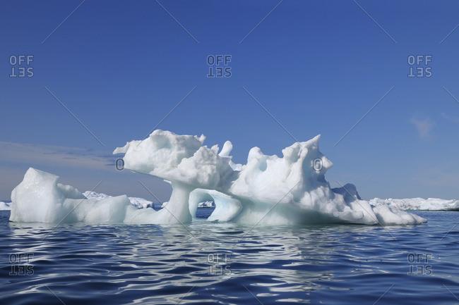 Drift Ice in Disko Bay, Ilulissay Icefjord, Ilulissat, Greenland