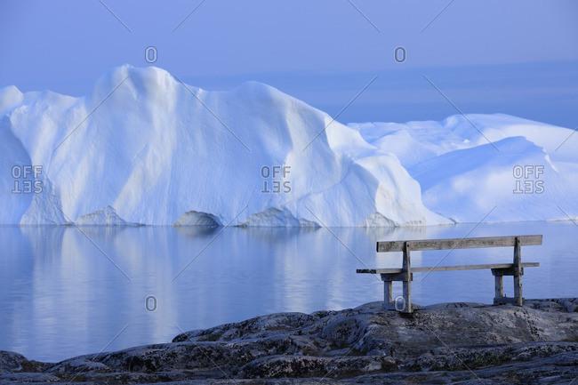 Iceberg, Ilulissay Icefjord, Ilulissat, Disko Bay, Greenland