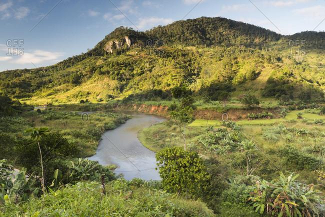 Namorona River, Ranomafana National Park, Madagascar Central Highlands, Madagascar, Africa