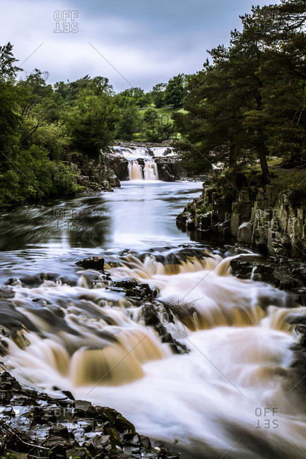 Low Force waterfall, Teesdale, England, United Kingdom, Europe