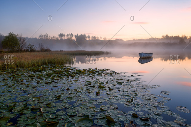 Loch Rusky, Perthshire, Scotland, United Kingdom, Europe