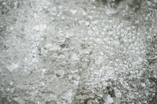 Water, close-up