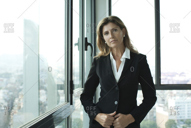 Businesswoman in suit - Offset Collection