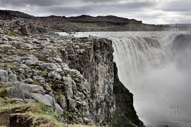 Dettifoss waterfall, Vatnajokull National Park, Iceland